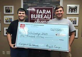 Photo of Hempstead County Farm Bureau Scholarship Recipients