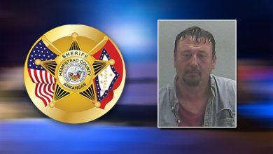 Photo of Released Sex Offender in Custody in Hempstead County