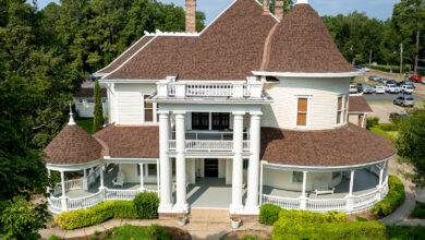 Photo of Henderson House restoration project completed