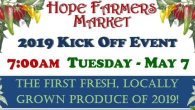 Photo of Hope Farmers Market kicks off May 7th
