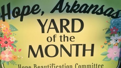 Photo of The May Hope Beautification Committee Yard of the Month