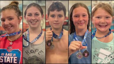 Photo of Five Hope Piranha Swimmers qualify for the Junior Olympics at the 2021 AAU All Star Meet