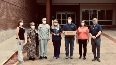 Photo of Brentwood Donates 3,000 Face Shields to Wadley Regional Medical Center