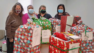 Photo of VFW & Auxiliary Post 8671 Give Christmas to Nevada County Foster Children