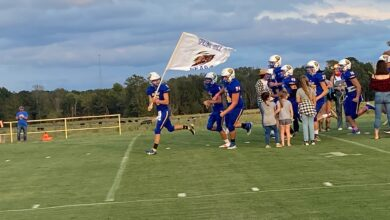 Photo of Marvell Runs Out Clock on Spring Hill, 28-14
