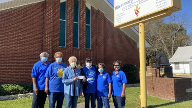 Photo of Lonoke Missionary Baptist Church Presents Donation to Hope in Action 1 & 2