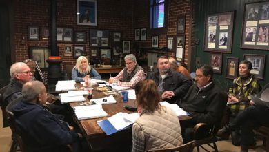 Photo of Hope Tourism Commission March Meeting