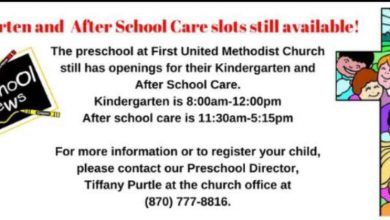 Photo of Kindergarten and After School Care slots still available at First United Methodist Church