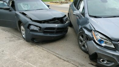 Photo of 2 Vehicle Collision on Hervey