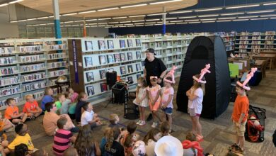 Photo of The Balloon Man Visits Hempstead County Library