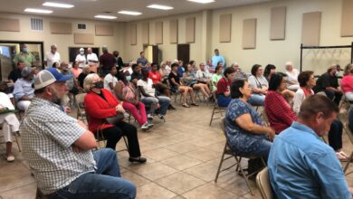 Photo of Hope citizens voice opinions over recreational needs at public hearing; new pool, downtown park top requests