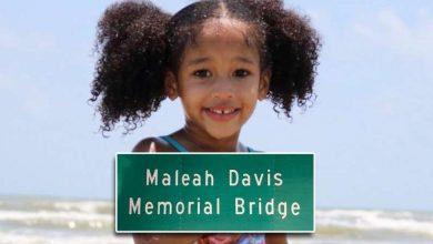 Photo of Maleah Davis Memorial Bridge Dedication Tomorrow