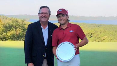 Photo of Razorbacks Fall to Notre Dame in Stephens Cup Final