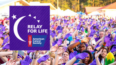 Photo of Board Being Set for 2019 Relay for Life Campaign