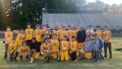 Photo of Spring Hill Boys' Jr Track Team Conference Champs