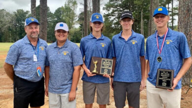 Photo of Spring Hill Bears Golf Headed to State