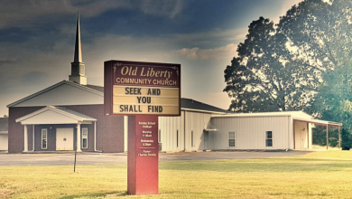 Photo of Old Liberty Community Church Service – May 3rd at 11:00 a.m.
