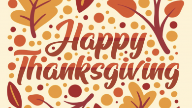 Photo of Thanksgiving Greetings, Shopping Tips and MORE!