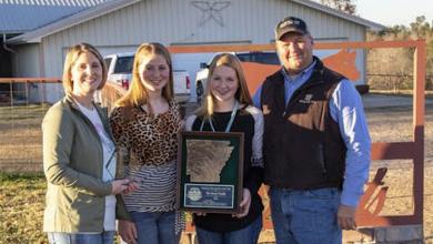 Photo of Sweat Family Named Arkansas Farm Family of the Year