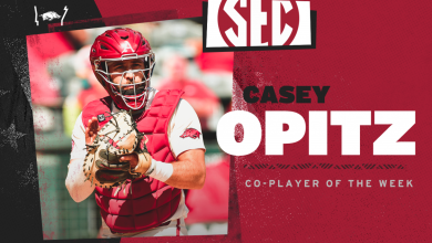 Photo of Opitz Named SEC Co-Player of the Week