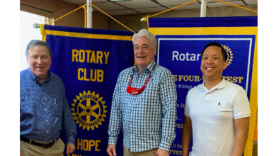 Photo of Hope Rotary Hears From Dansons Plant Manager