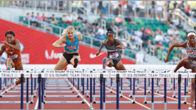 Photo of Payton Chadwick finishes 7th in Olympic Trials 100m hurdles final