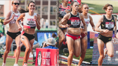 Photo of Pair of Arkansas alums race in Olympic Trials finals