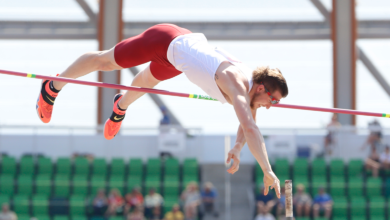 Photo of Andrew Irwin sixth in Olympic Trials pole vault final