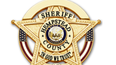 Photo of HCSO Incident Report August 21-September  1