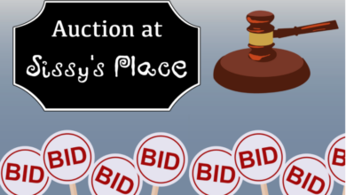 Photo of Sissy's Place to Hold Auction