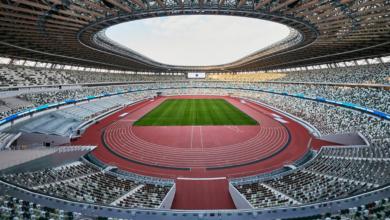 Photo of Razorbacks ready for start of Olympic Track & Field in Tokyo