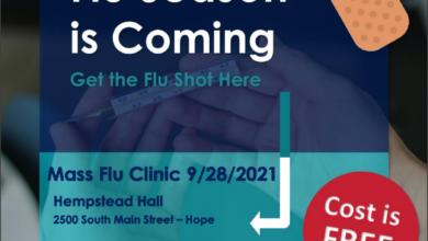 Photo of Community Flu Vaccine Clinic Announced
