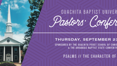 Photo of Ouachita's Pruet School of Christian Studies to co-host annual Pastors' Conference Sept. 23