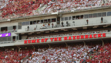 Photo of Seven home games on schedule for Hogs in 2022