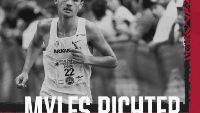 Photo of Myles Richter claims SEC Runner of the Week honor