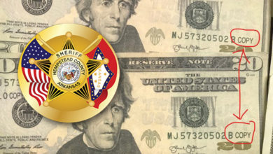 Photo of Sheriff Warns Prop Money Being Circulated