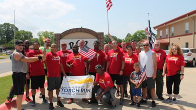 Photo of Special Olympics Torch Run