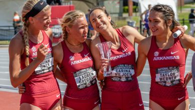 Photo of Hogs Men and Women Dominate National Relays