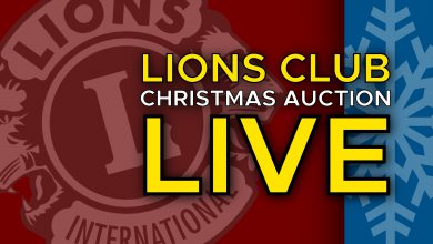 Photo of Hope Lions Club Christmas Auction LIVE at 6PM
