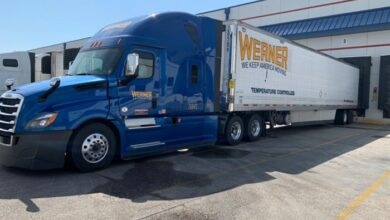 Photo of Werner Enterprises enters lease for parking lot in Prescott