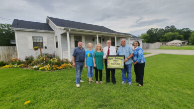 Photo of Brazzel's Receive Yard of the Month