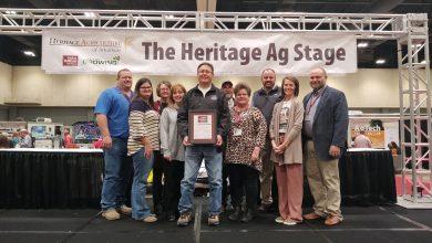 Photo of Hempstead County Farm Bureau recieves Gold Star Award