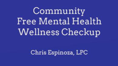 Photo of Free Mental Health Wellness Checkup Monday September 27