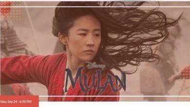 Photo of Mulan at Hempstead Hall this Friday September 24