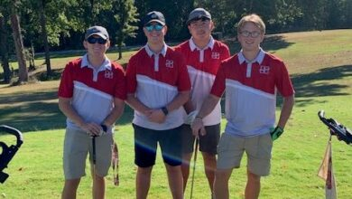 Photo of Hope Boys Golf District Tourney, Mathis Qualifies for State