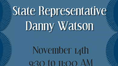 Photo of Community Coffee with State Rep. Danny Watson