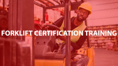 Photo of Forklift Certification Training Class to Be Held at U of A Hope