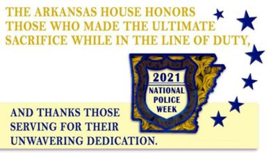 Photo of Weekly Column from the Arkansas House of Representatives 5-14-21