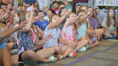 Photo of Local Children Delighted By Magic Mr. Nick At Hempstead County Library