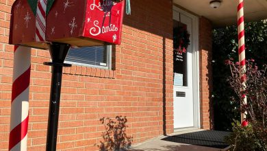 Photo of Santa Drops of Letters at Prescott Chamber of Commerce